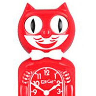 Kit-Cat Clock Rose Float (BC-31) Uhr