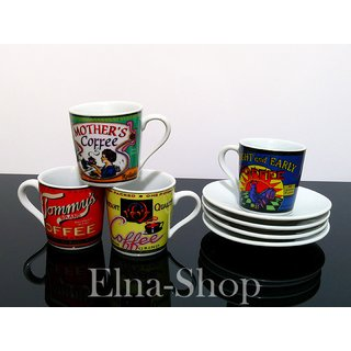 cappuccino tassen tommy coffeebrands 9 90. Black Bedroom Furniture Sets. Home Design Ideas