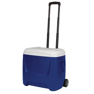 Igloo Kühlbox Eisbox mit Rollen Island Breeze 28 QT blau